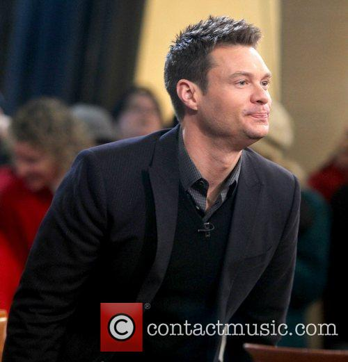 Ryan Seacrest and Dick Clark