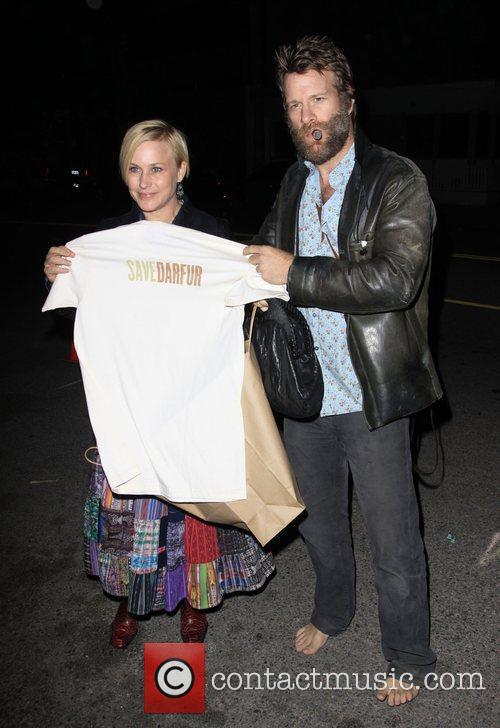 Patricia Arquette and Husband Thomas Jane