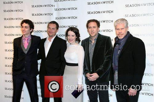 Robert Sheehan, Claire Foy, Nicolas Cage, Ron Perlman, Stephen Campbell Moore and The Witch