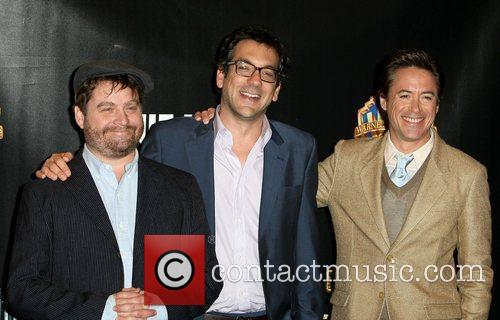 Zach Galifianakis, Robert Downey Jr and Warner Brothers
