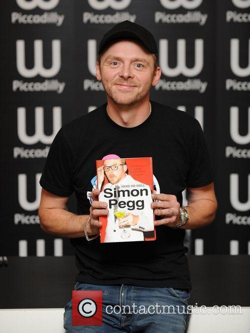 Simon Pegg and N.e.r.d