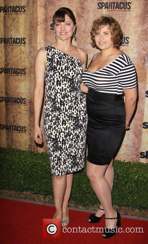 Lucy Lawless and Daisy Lawless 6