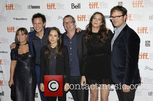 Miranda Bailey, Ellen Page, James Gunn, Liv Tyler, Rainn Wilson and Ted Hope 2