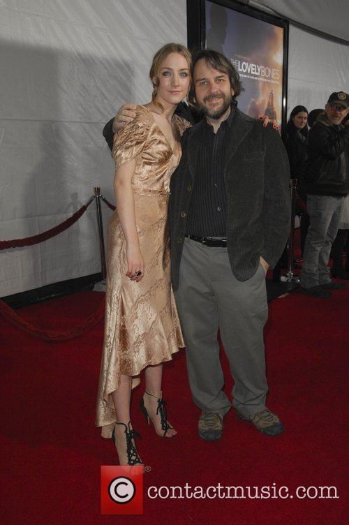 Saoirse Ronan and Peter Jackson 6