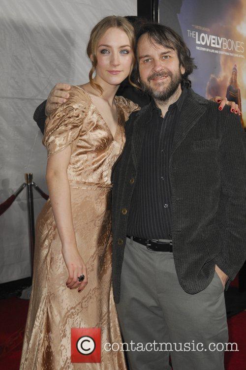 Saoirse Ronan and Director Peter Jackson 8