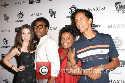 Alison Brie, Donald Glover, Yvette Nicole Brown and Danny Pudi