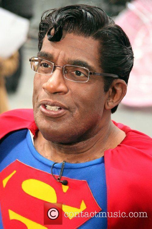Al Roker and Superman