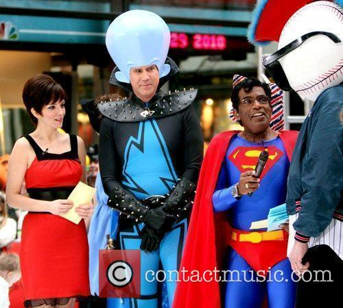 Tina Fey, Al Roker, Superman and Will Ferrell