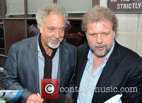 Tom Jones and His Son Mark Woodward