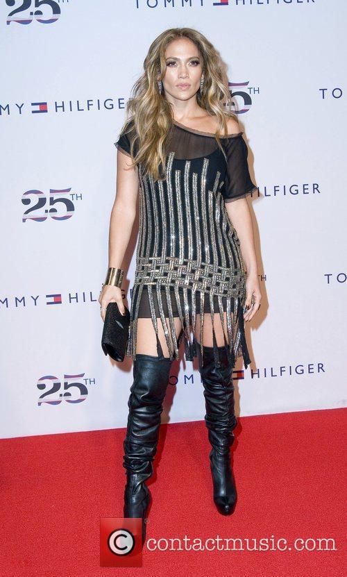 Jennifer Lopez, Celebration and Tommy Hilfiger 5