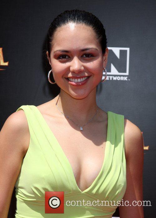 Alyssa Diaz and Cartoon Network