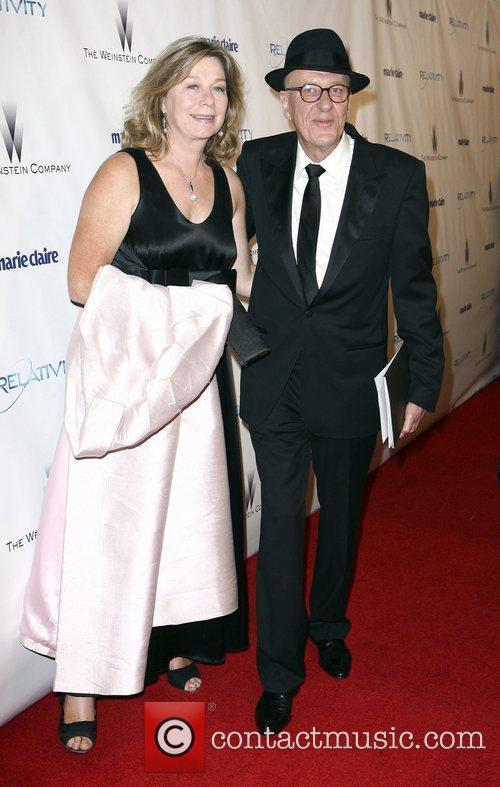 Geoffrey Rush and Jane Menelaus