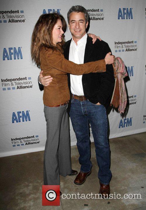 Lara Flynn Boyle and Dermot Mulroney