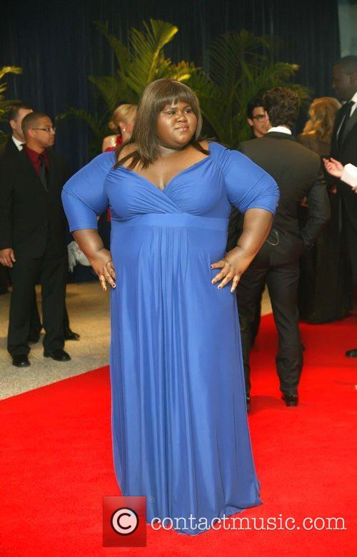 Gabourey Sidibe and White House 9