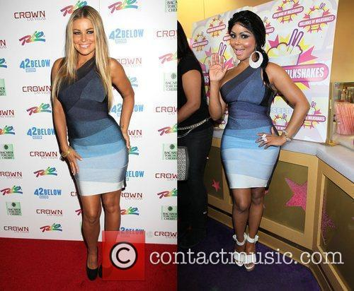 Carmen Electra and Lil' Kim Wore The Same Dress. Who Wore It Best? 1