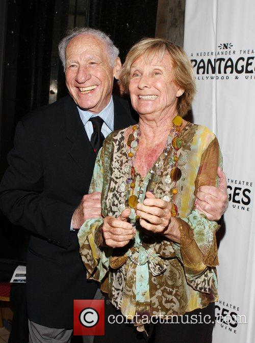 Mel Brooks and Cloris Leachman