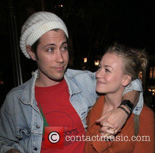 Yvonne Strahovski and Her Boyfriend 1