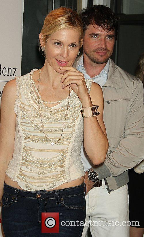 Kelly Rutherford, Matthew Settle and New York Fashion Week