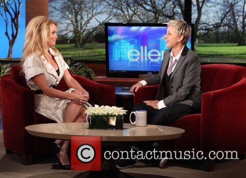 Pamela Anderson and Ellen Degeneres 1