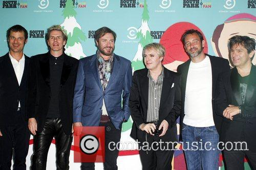 Simon Le Bon, Duran Duran, Matt Stone, Nick Rhodes, Roger Taylor, South Park and Trey Parker