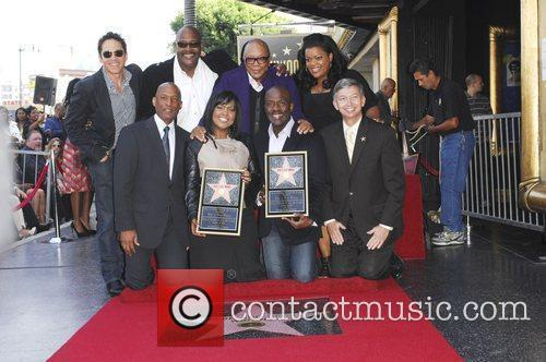 Bebe Winans and Star On The Hollywood Walk Of Fame