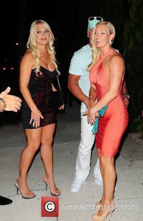 Brooke Hogan, Hulk Hogan and Jennifer Mcdaniel