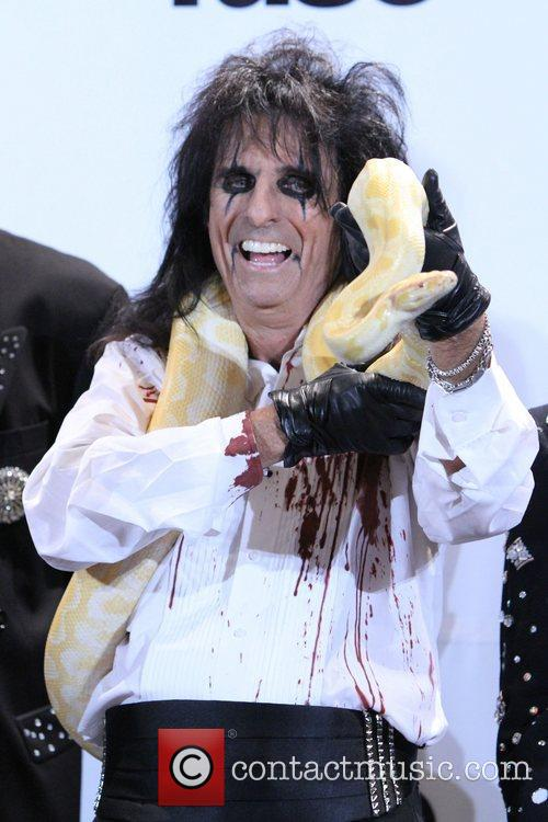 Alice Cooper and Rock And Roll Hall Of Fame 1
