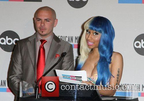 Pitbull, Nicki Minaj and American Music Awards