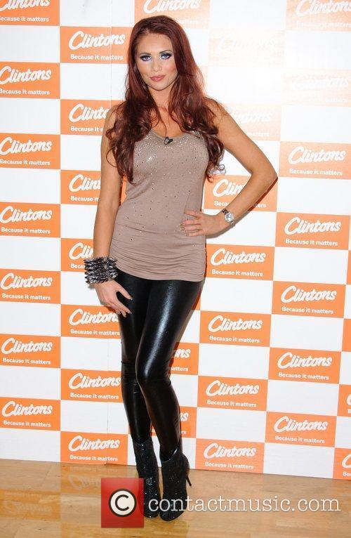 Amy Childs and Bluewater 9