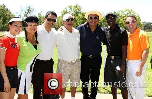 Aimee Garcia, Cheech Marin, Don Cheadle and George Lopez
