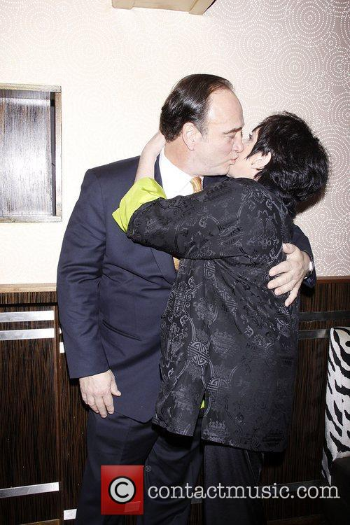 Jim Belushi and Liza Minnelli