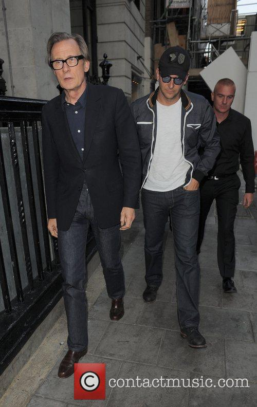 Bill Nighy and Bradley Cooper 6