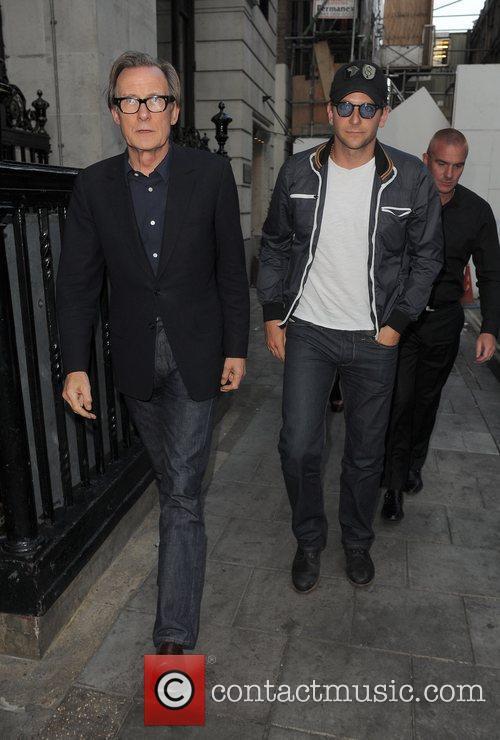 Bill Nighy and Bradley Cooper 9