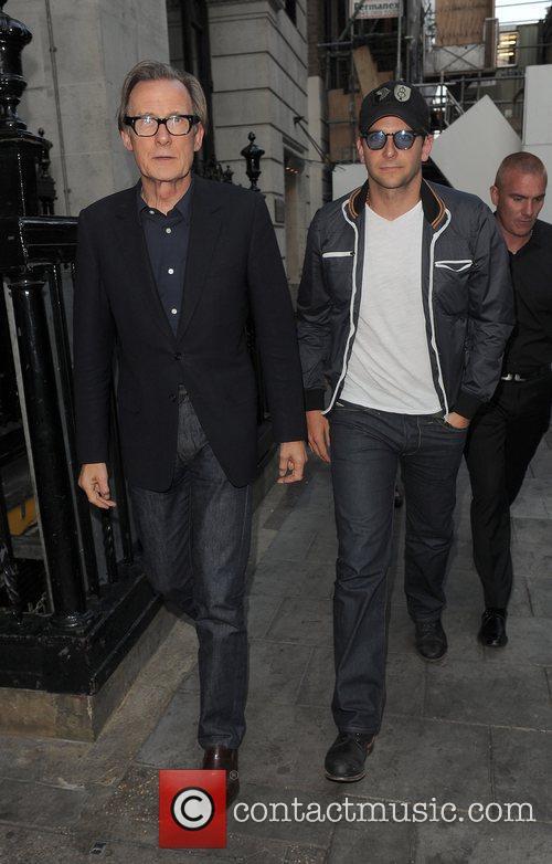 Bill Nighy and Bradley Cooper 4