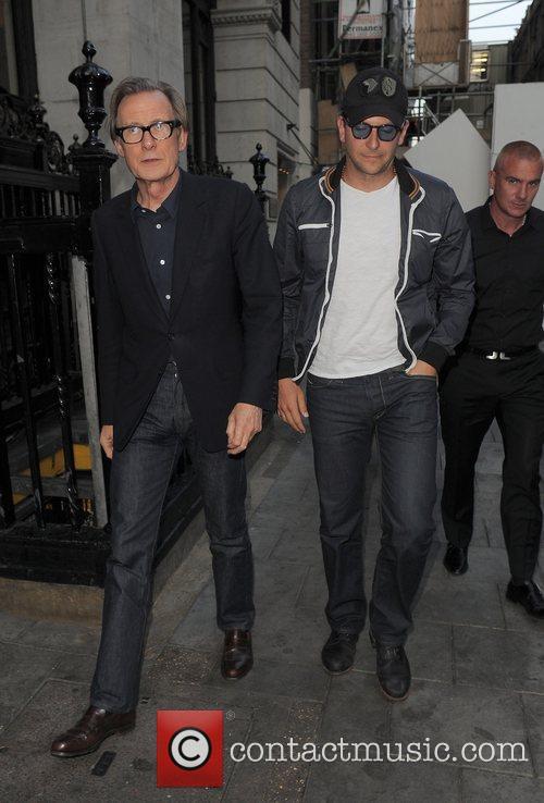 Bill Nighy and Bradley Cooper 7