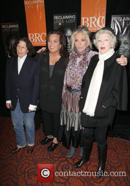 Fran Lebowitz, Elaine Stritch and Rosie Odonnell