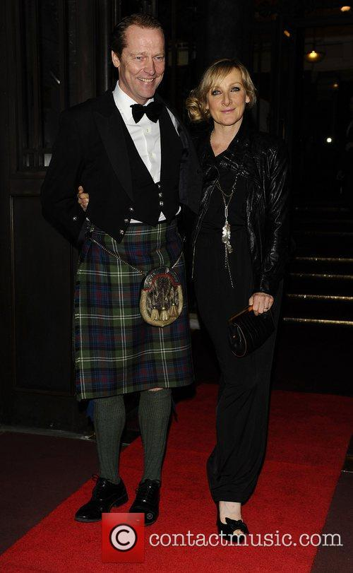 Lesley Sharp and Iain Glen