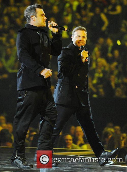 Robbie Williams, Gary Barlow and Take That 5