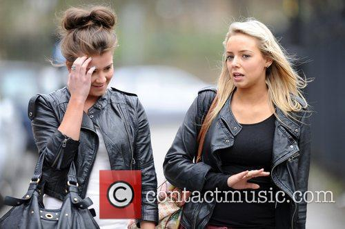 Coronation Street, Brooke Vincent and Sacha Parkinson 4