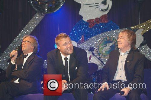 Eric Clapton, Andrew Flintoff and Bill Wyman 2