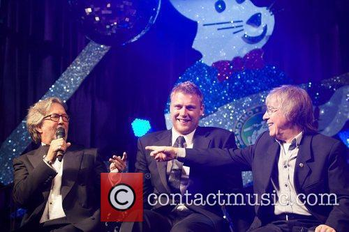 Eric Clapton, Andrew Flintoff and Bill Wyman 3