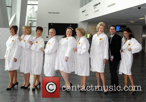 Calendar Girls, Bruno Langley, Danielle Lineker, Jennifer Ellison, Lynda Bellingham and Ruth Madoc 1