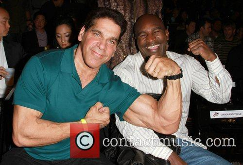 Lou Ferrigno and Evander Holyfield