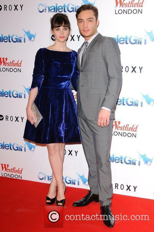 Felicity Jones and Ed Westwick 2