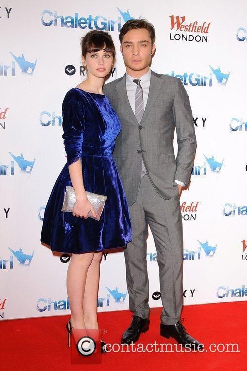 Felicity Jones and Ed Westwick 3