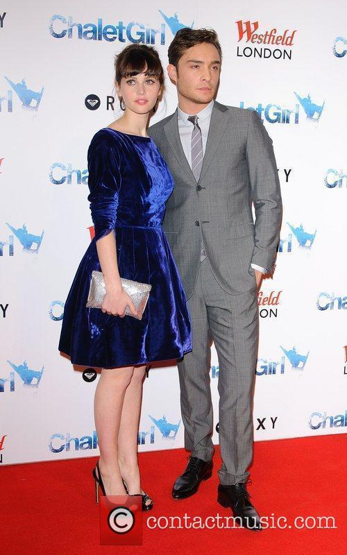 Felicity Jones and Ed Westwick 5