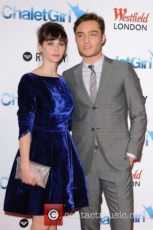 Felicity Jones and Ed Westwick 7