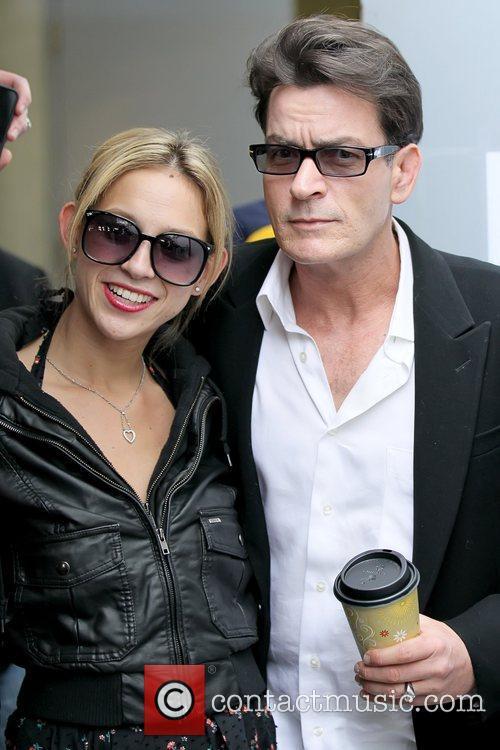 Natty and Charlie Sheen