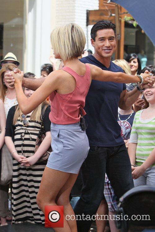 Chelsea Kane, Dancing With The Stars and Mario Lopez 1