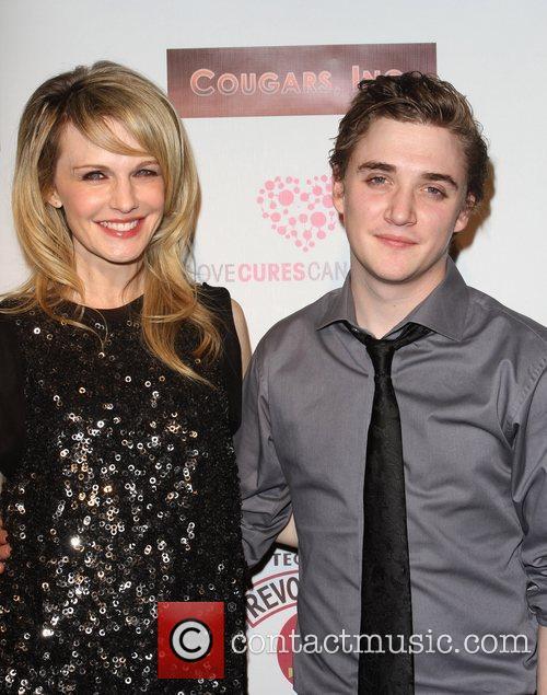 Kathryn Morris and Kyle Gallner